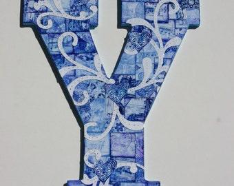 Nursery Wall letter, Deorative letter, Letter Y