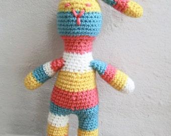 Bunny Crochet Pattern, Amigurumi PATTERN for Bunny, crochet pattern PDF