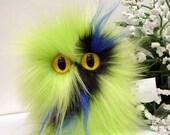 Plush Monster Fuzzy Havok Furry Little Mugley Thing