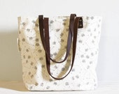 screen printed tote bag - Broken Arrows - SlideSideways