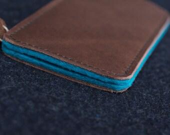 Galaxy S8, Galaxy S8+ Leather Sleeve  - LEBOWSKI, Organic Leather