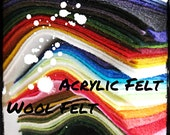 All About FuzzyFish.etsy.com FELT - have a read.