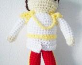Instant Download Amigurumi Crochet PDF Pattern - Prince charming (cinderella)