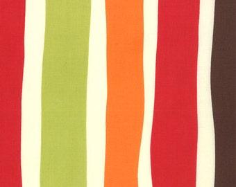 COUPON Code Sale - FAT QUARTER - End of Bolt - Moda, Oh Deer, Bouquet Stripe, Momo, 100% Cotton Quilt Fabric, Stripe Fabric, Quilting