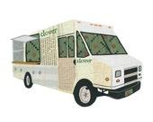 Clover Food Lab 5x7 Print - Boston Food Trucks
