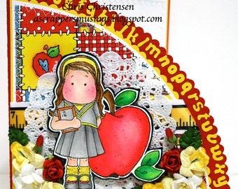 Magnolia Tilda Teacher/Student  School Themed Card