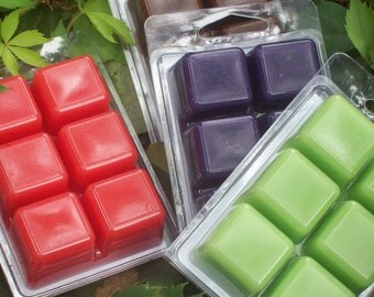 Wax Melts, 6pc deal, Strong scented wax melts, your choice of fragrance