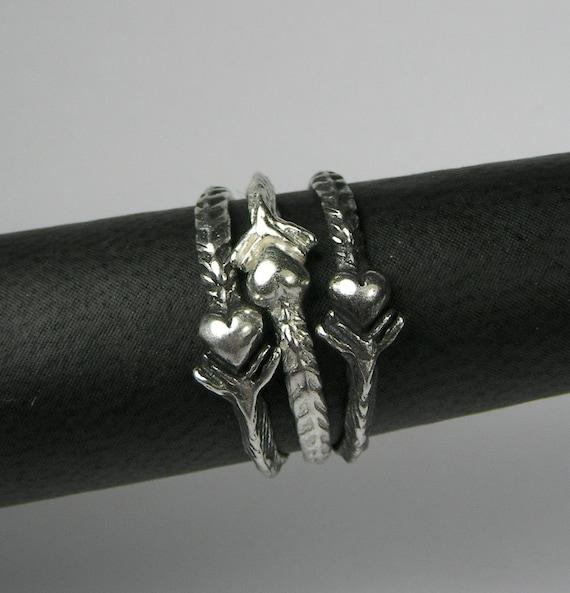 Arrow Heart Ring
