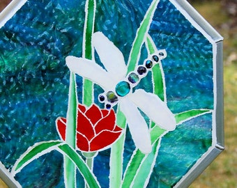 Dragonfly Mosaic Panel