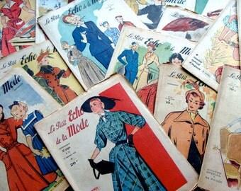 Antique French Magazine