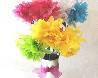 Seeded Whimsical Wedding Favor Centerpiece Party Favors in Vibrant Colors