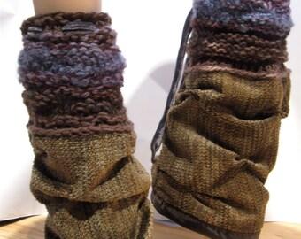 Custom Colour Thick Leg Warmer Apres Ski or Dance Wear