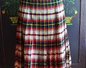 Pendleton skirt pleated wool reversible size m
