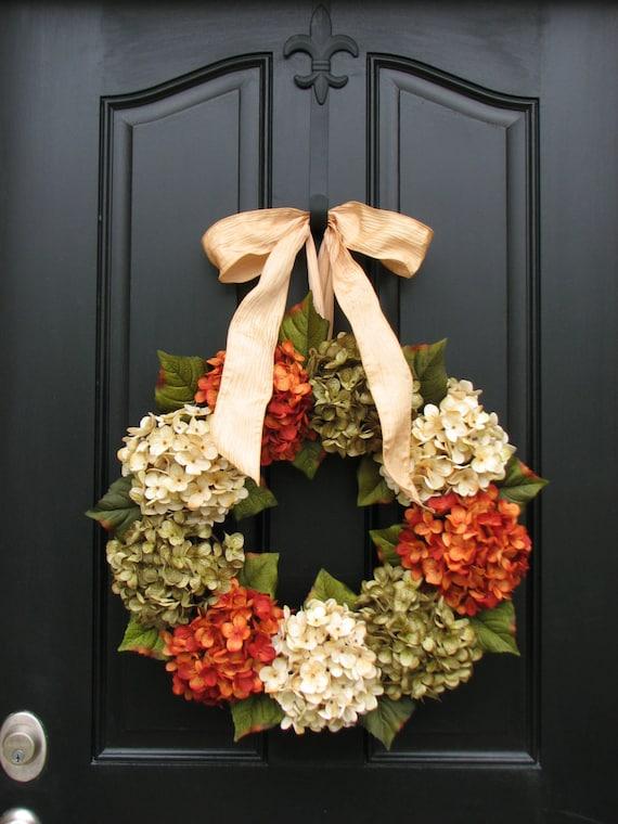 fall front door wreaths