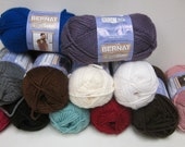 Yarn De-stash Clearance - Bernat Softee Chunky in Various Colors - Lowest Prices