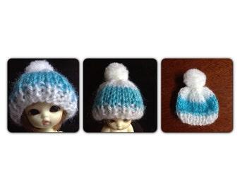 A138 - Felix brownie / Pukipuki  / lati white knitted hat