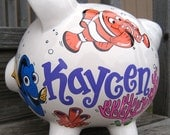 Finding Nemo Personalized Piggy Bank-Large