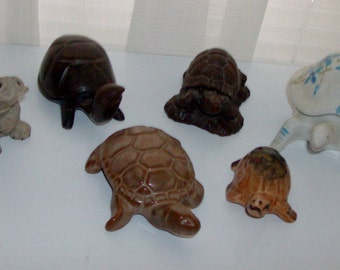 Instant Collection of Small Turtle Figurines