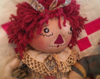 "Soldiers and Sweethearts Annie"", Original Raggedy Ann, PDF Version"