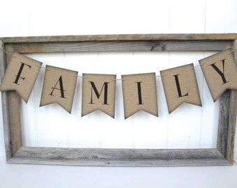 Family Banner - script background - home decor. family photo, photo shoot banner, Mothers day decor, family gift