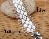 Lisa Superduo Beadwork Bracelet PDF Tutorial