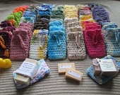 Wholesale Crochet Soap Savers, USA Grown Cotton , US Shipping Included, Made to Order, Custom