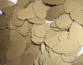 10 pcs metallic Angel's wings sequins /KBIS202