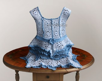 Baby Dress Crochet Pattern No 77