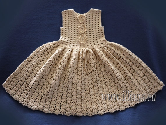 Crochet Baby Dress No 57