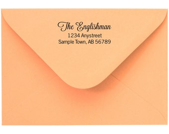 Personalized Custom Made Return Address Rubber Stamps R96