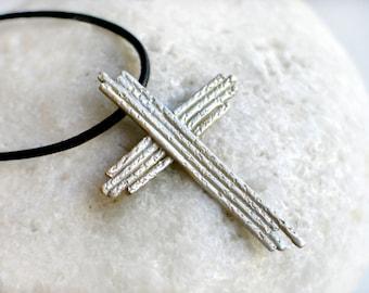 Cross Sterling Silver Pendant