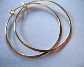 """Shop Sale.. Hoop Earrings, Hammered, u pick mix, Silver or Gold Plated Brass, 10 prs, 1.5"""" inch, interchangeable wholesale everyday ber"""