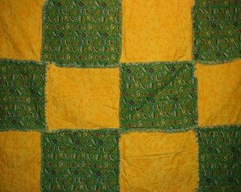 The King's Modern Rag Quilt