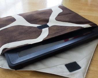 Giraffe Print iPad Envelope