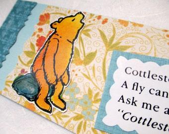 BOOKMARK - Winnie the Pooh: Cottleston Pie