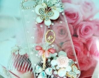 Apple Iphone 5, 6, 7, or plus Case , Garden Fairy