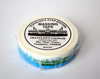 mt Washi Masking Tape - Star Ferry - Limited Edition Traveler's Factory