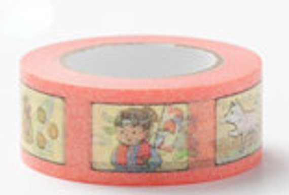 Colte Washi Masking Tape - The Boy Born from a Peach - Fairy Tale