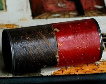 antique dice tumbler...  T 17 L