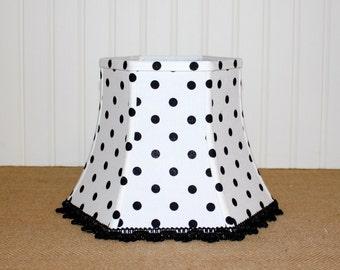 Polka dot lampshade | Etsy