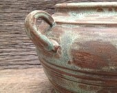 Rustic Green Matte Vase