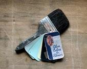 Pick a Color, Any Color - Vintage Paint Samples - Vintage Paint Chip Book