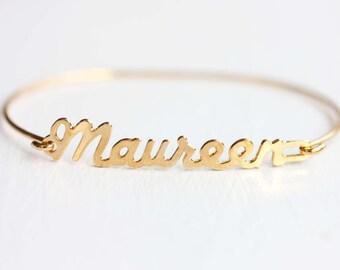 Vintage Name Bracelet - Maureen