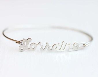 Vintage Name Bracelet - Lorraine