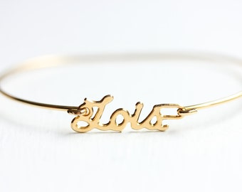 Lois Name Bracelet, Name Bracelet Gold, Lois Name Jewelry, Name Plate Jewelry Gold