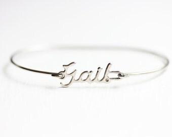 Vintage Name Bracelet - Gail