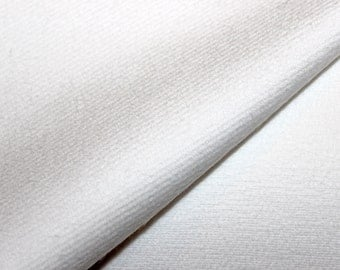 Add on for Quilt Kits — Extra Layer of Flannel OR Warm and Natural Batting, White, Organic, Cotton, Flanneled, Twill, - 8 oz