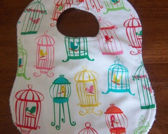 Tweet Tweet Bird Cage Bib