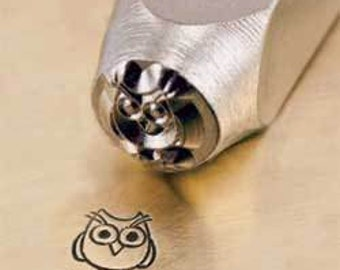 Sweet OWL - 6mm Metal Design Punch for Personalized Stamped Jewelry Blanks