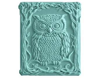 Owl Soap - Vegan Soaps -  Decorative  Soap   -  Glycerin Soap - Natural Soap - Moisturizing Soap  -  Choose Your Own Scent
